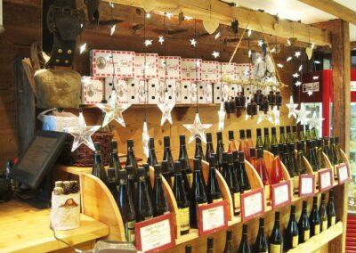 L'épicerie de Mamie Tartiff - Le rayon des vins