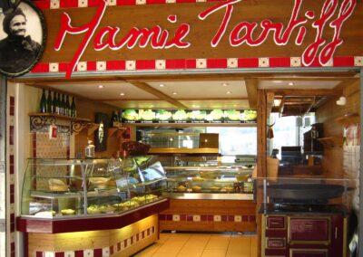 L'épicerie de Mamie Tartiff - l'entrée